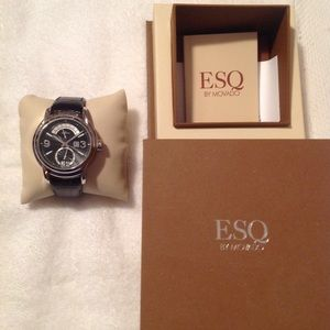 Men's ESQ watch EUC!😎